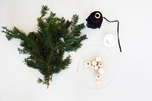 DIY: Einfach schön, ein Adventskranz mit skandianischem Charme