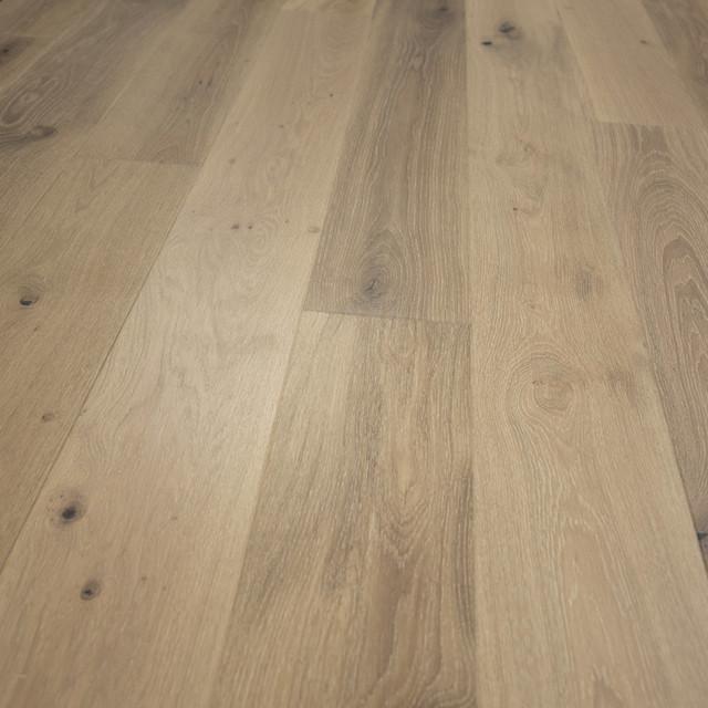 French Oak Prefinished Engineered Wood Floor Antique White 1 Box