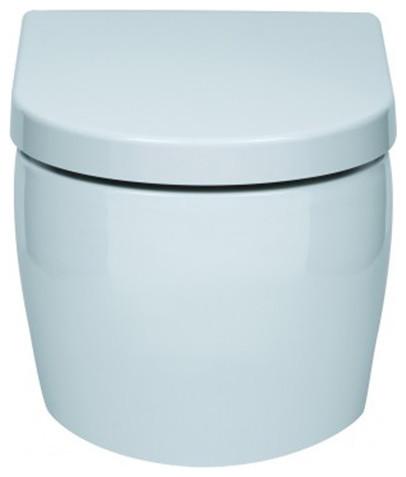 Zero Rimless Wall Hung Pan Include Slim Soft Close Seat