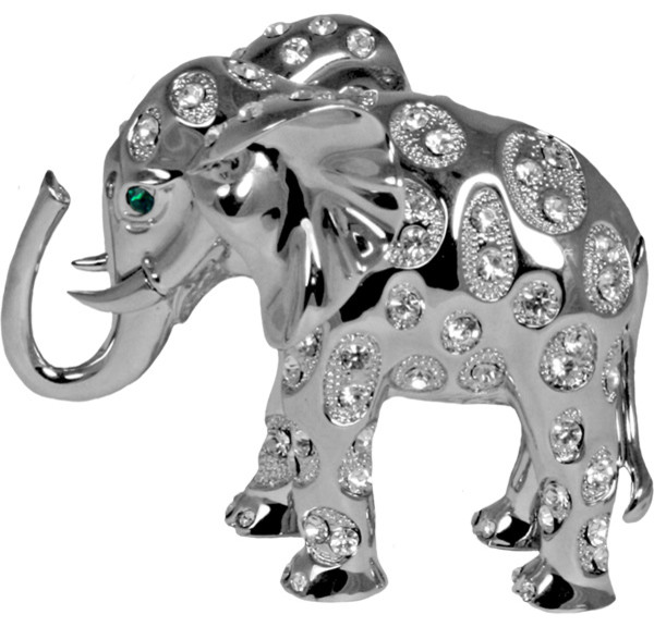 Elephant Figurine Paperweight Contemporary Decorative Objects
