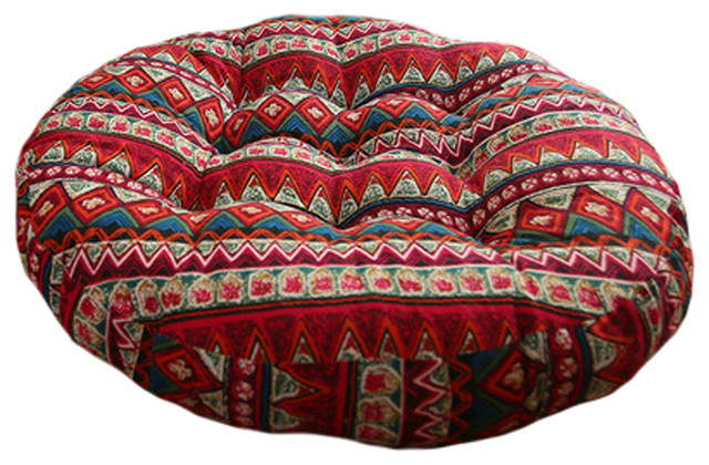 ethnic floor cushions fancy floor ethnic customs chair cushion floor round pillow seat pad pillow