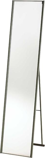 Alice Floor Mirror, Steel.