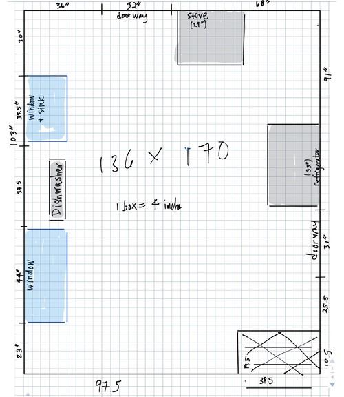 Awkward Kitchen Layout Solutions: Awkward Kitchen Layout
