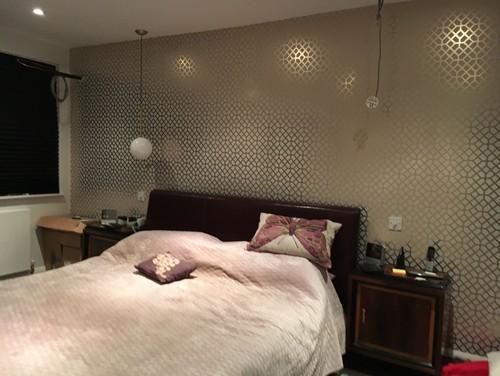 . My new bedroom lacks warmth