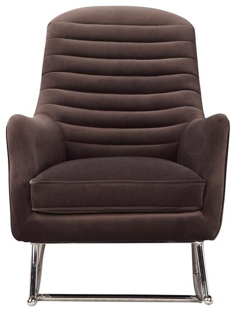 Prime 28 7 W Liam Rocking Chair Horizontal Channeling Soft Velvet Upholstery Modern Inzonedesignstudio Interior Chair Design Inzonedesignstudiocom