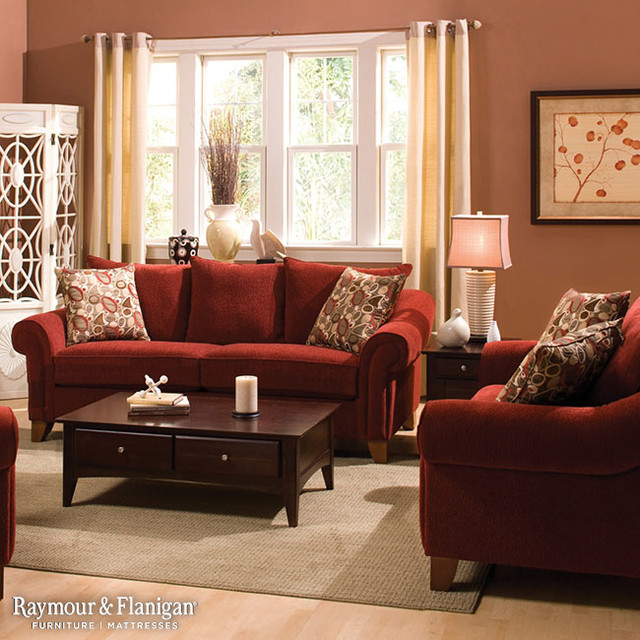 Molly Chenille Collection Living Room