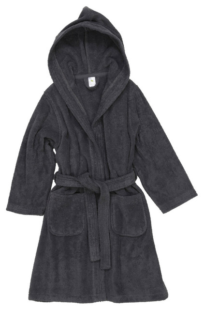 Linum Kids 100% Turkish Cotton Hooded Unisex Terry Bathrobe - Contemporary  - Bathrobes - by Linum Home Textiles f58c1285c