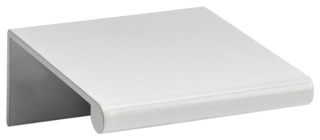Tab Edge Pull 32 Mm Cc, High White Gloss