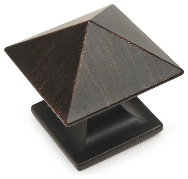 25-Pack Cosmas 1749ORB Oil Rubbed Bronze Cabinet Hardware Birdcage Knob