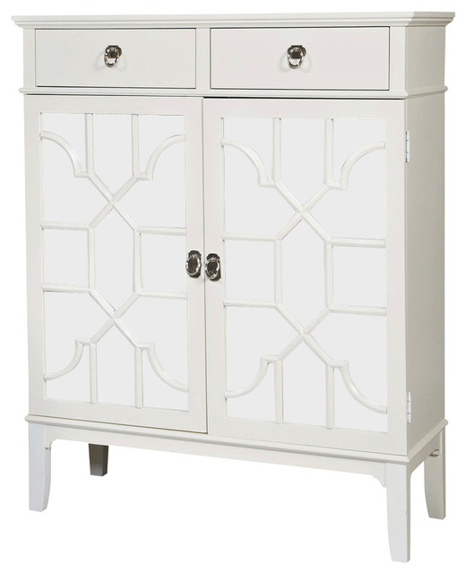 Hammary Hidden Treasures Mirrored Cupboard - Transitional - China Cabinets And Hutches - by ...