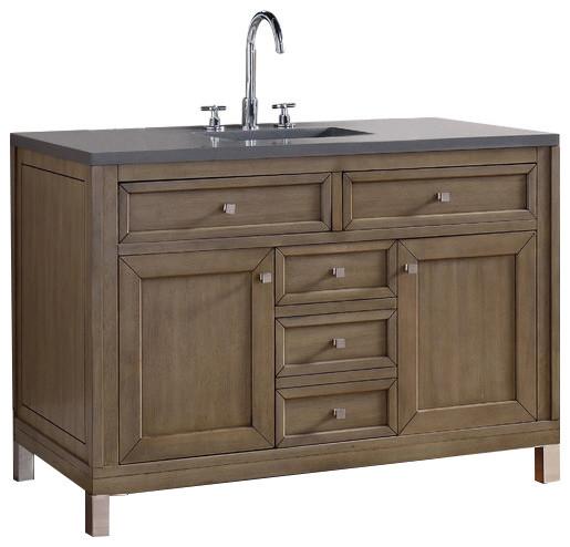 James Martin Furniture Chicago 48 Quot Single Vanity White