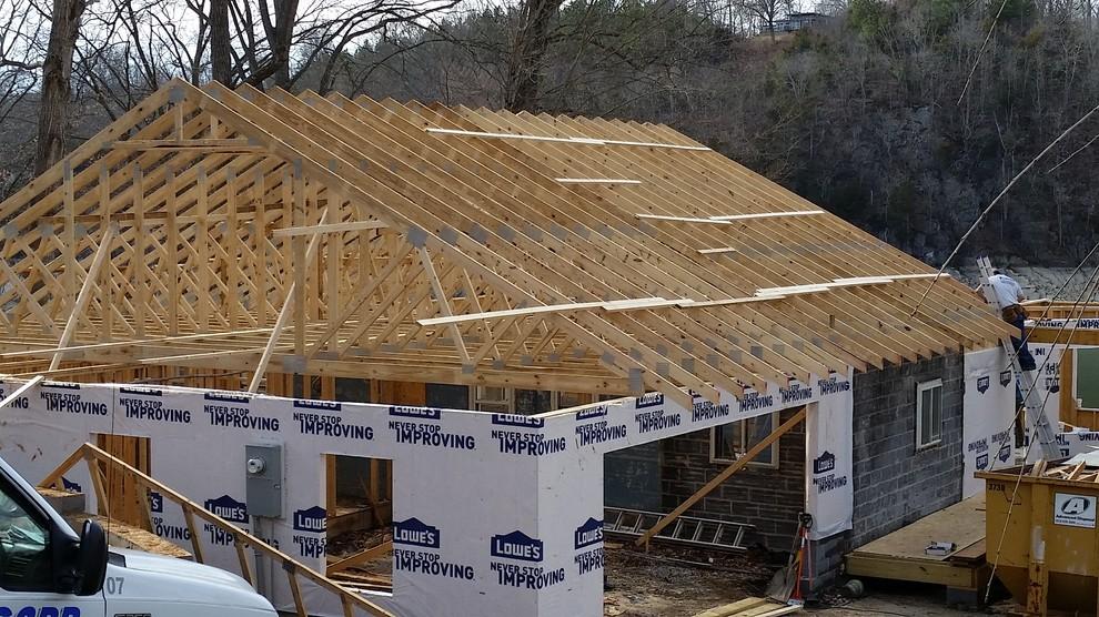 Custom Lakefront Home Build