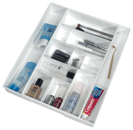 Expand A Drawer Bath and Vanity Organizer, White ...