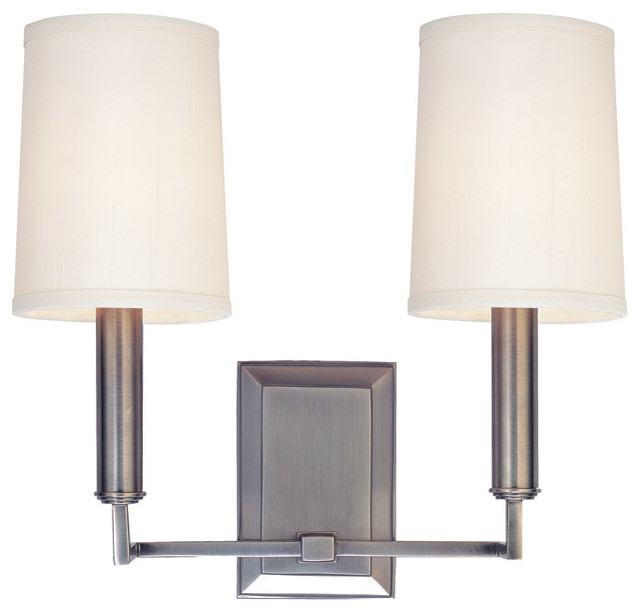 Clinton 2-Light Wall Sconce - Transitional - Wall Sconces - by Hudson Valley Lighting