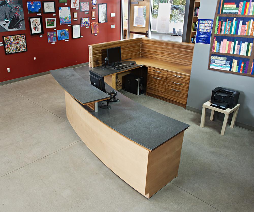 Library Desk, Wakefield Community Centre
