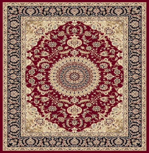 Traditional Area Rugs: Persian Rug Persian Rugs Modern 5125, Black