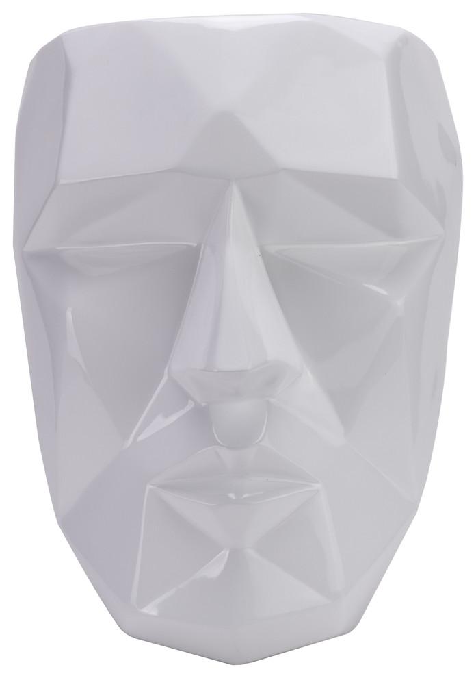 Finesse Decor Geometric Wall Art White
