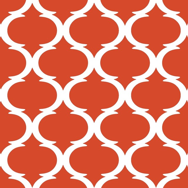 Tilez peel stick wallpaper squares classy clean for Orange peel and stick wallpaper