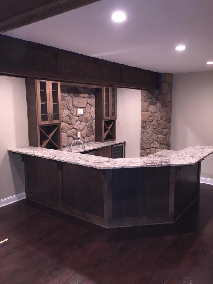 Wine Cellar/Bar Area