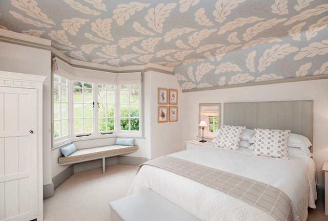 11 Surprising Ways Wallpaper Can Elevate Your Ceiling