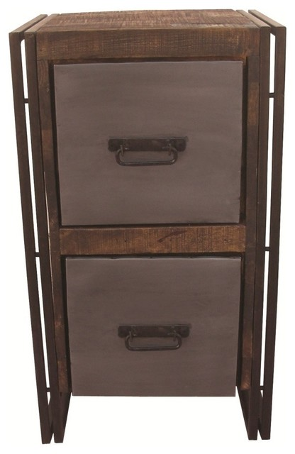 Filing Cabinet 2 Drawers.