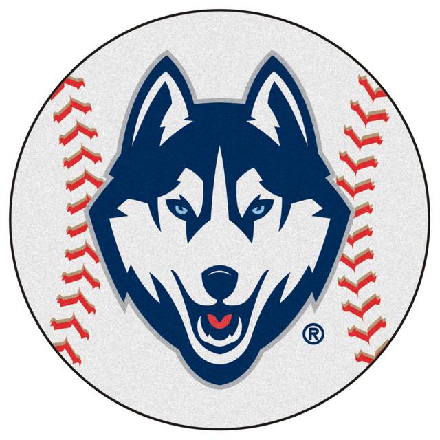 UConn Huskies Grand Slam Baseball Area Rug