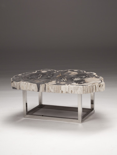 Stone Slice Table