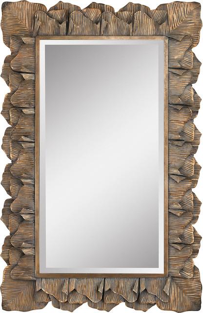 Cheltemham Leaf Mirror