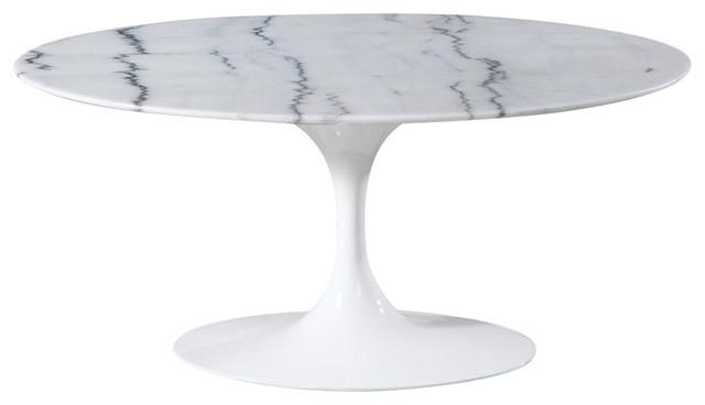 Tulip Oval Coffee Table Mid Century