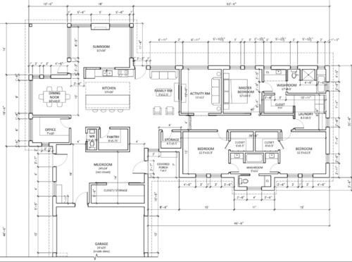 Slab On Grade Bungalow Floor Plans Gurus Floor