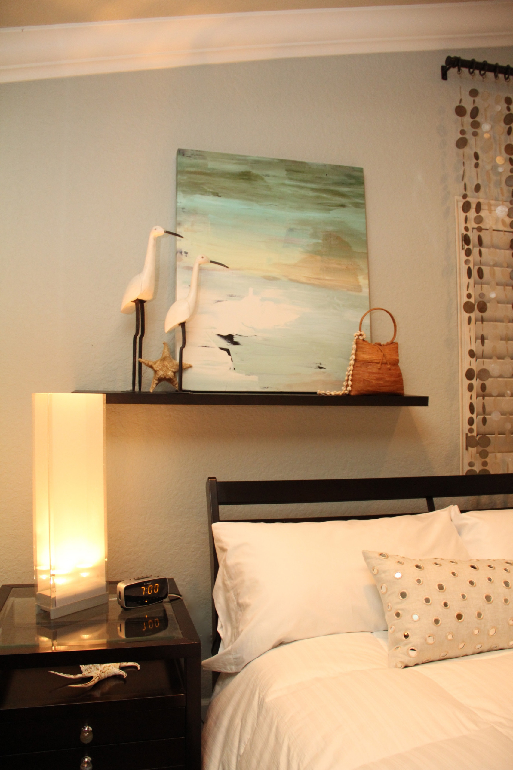 Floating Shelf Above Bed Houzz