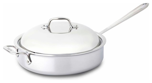All Clad Ss Saute Pan W/ Domed Lid.