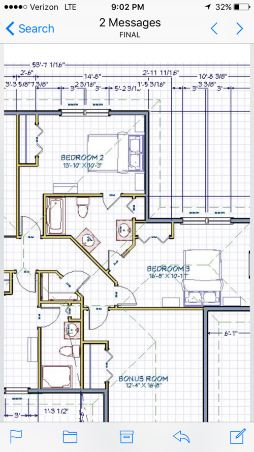 Jack and jill bathroom bedroom layout for Jack and jill closet design