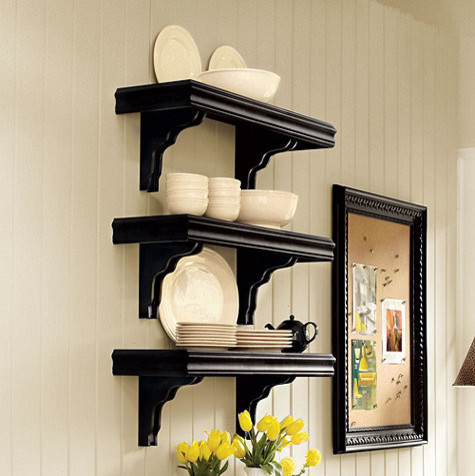 Cafe Shelving - 12 inch Deep traditional-display-and-wall-shelves - Cafe Shelving - 12 Inch Deep - Traditional - Display And Wall