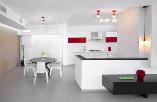 Vila in the valley modern kitchen