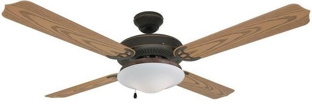 """Hardware House 13-4224 52"""" 4-Blade Ceiling Fan."""