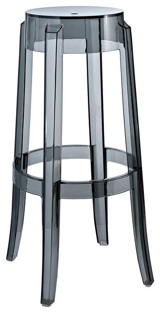 Modway Eei 170 Clr Casper Bar Stool Clear Contemporary