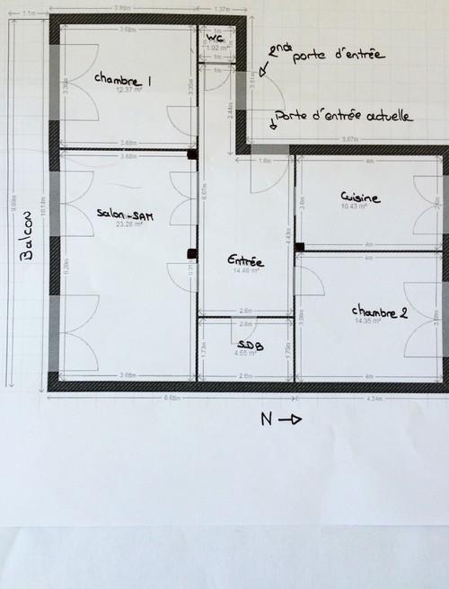 Une troisi me chambre for Chambre 14m2