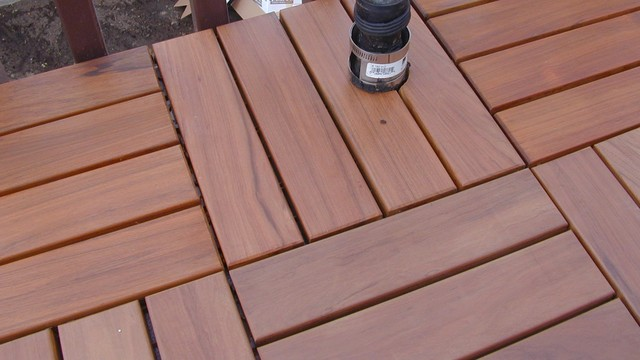 Using Wood Deck Tiles Modern San Diego by Design For Less