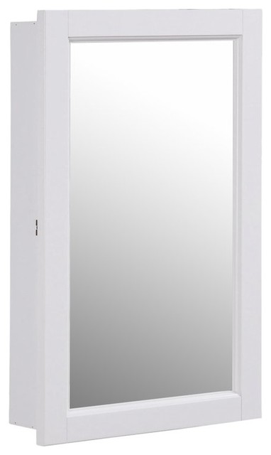 Swing Door Surface Mount Medicine Cabinet.