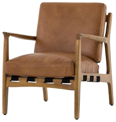 Silas Chair, Patina Copper, Ash Wood Na by Four Hands Home