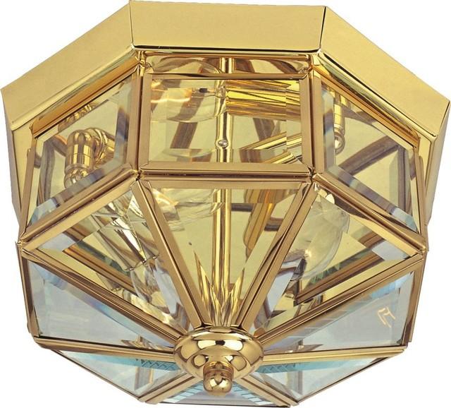 Maxim 6504 Maxim 11 4-Light Ceiling Light, Polished Brass.