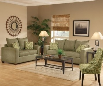 Olive Green Couches And Dark Brown Floors Part 67