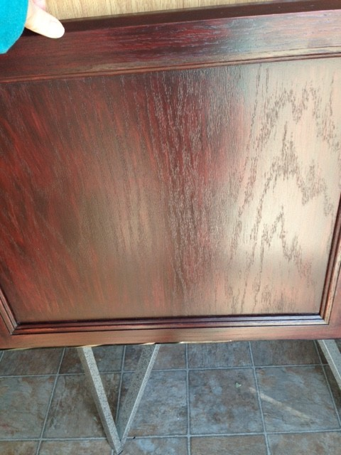 Bathroom Cabinets Georgia help! - general finishes gel stain kitchen cabinets gone bad!