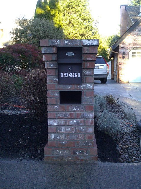 Lake Oswego Brick Mailbox
