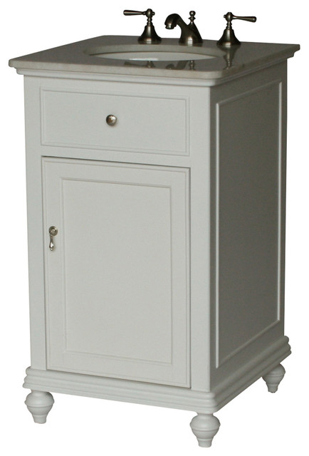 21 Inch Contemporary Style Single Sink Bathroom Vanity Model 2609 W Traditional Bathroom Vanities And Sink Consoles By Chinese Arts Inc Houzz