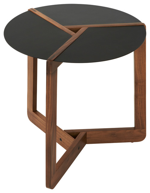 Blu dot pi small side table modern side tables and end for Small bathroom accent tables