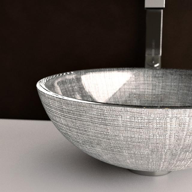 Amazing Florence Glass Vessel Sink