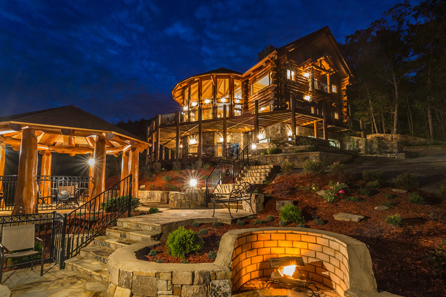 Glass Lodge Blue Ridge Ga : Spyglass lodge rising star lane mineral bluff