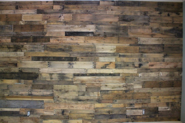 Pallet Wall In Big Canoe Ga
